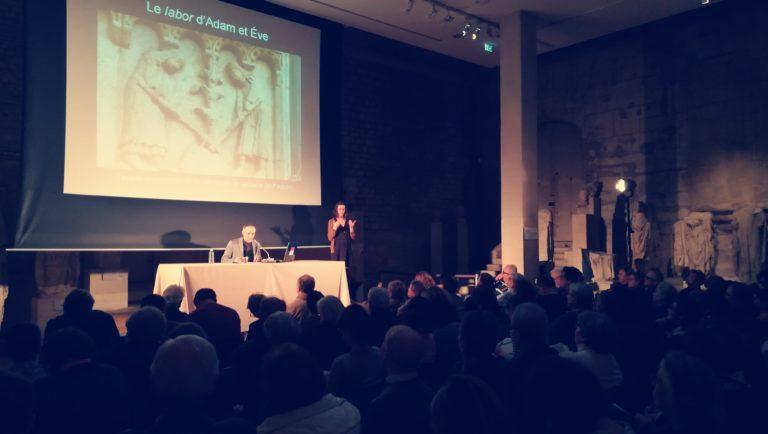 Interprétation d'une conférence au musée de Cluny / musée du Moyen-Âge de Paris, 2017